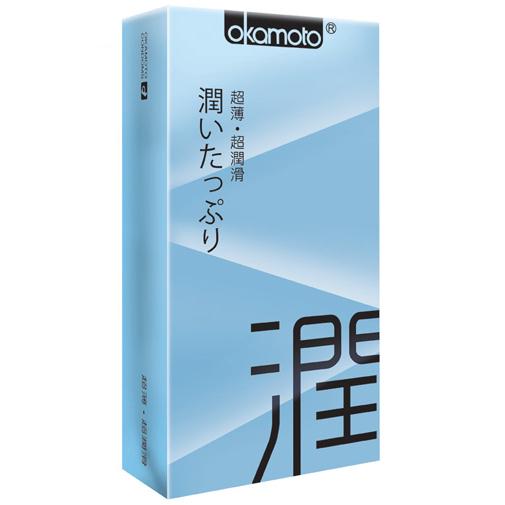 岡本Ultra Smooth極潤型保險套(10入)